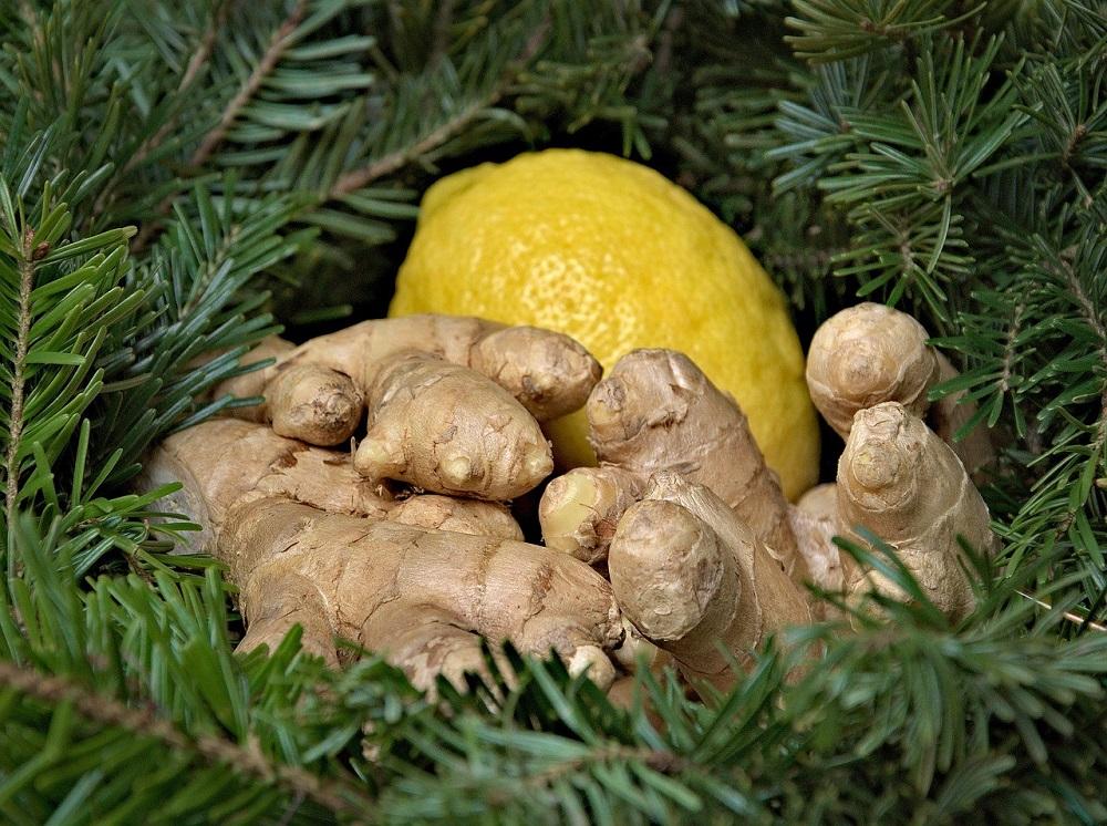 Имбирь и лимон
