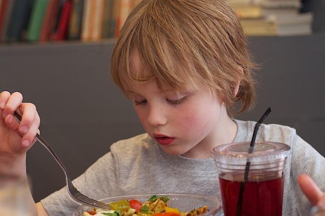 Детские блюда с куркумой