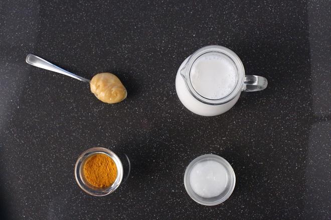 Мед ,молоко, куркума - чудо-средство