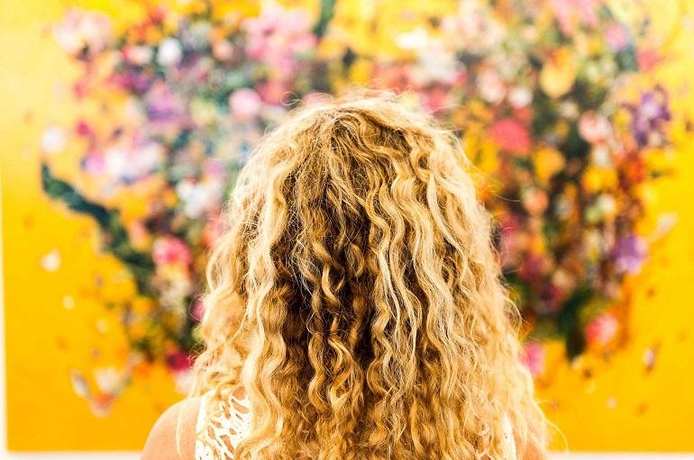 Волосы светлые