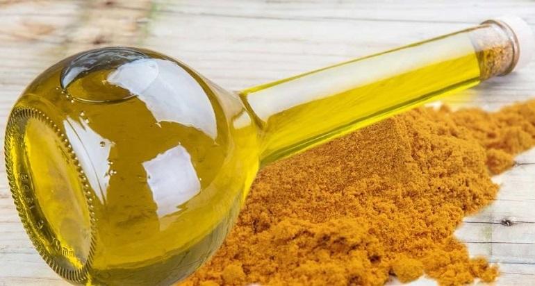 Куркума и оливковое масло