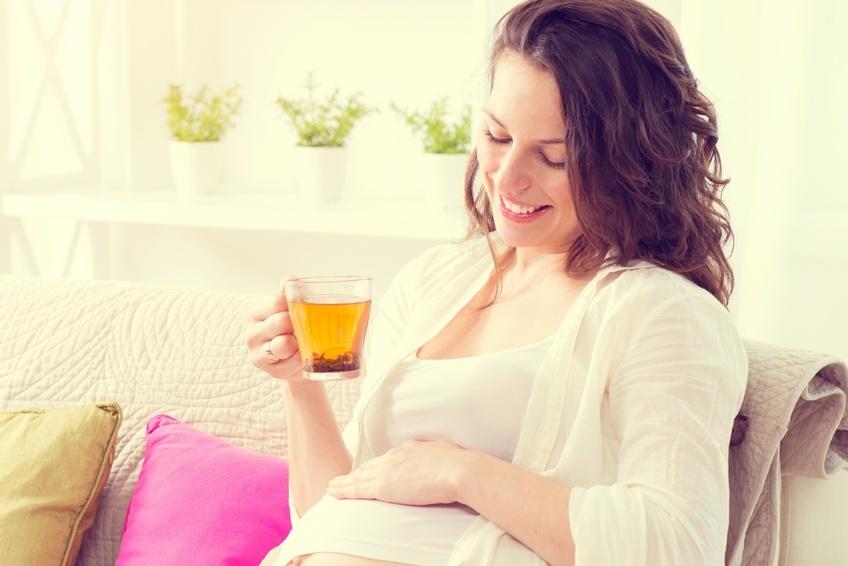 Травяной чай во время беременности