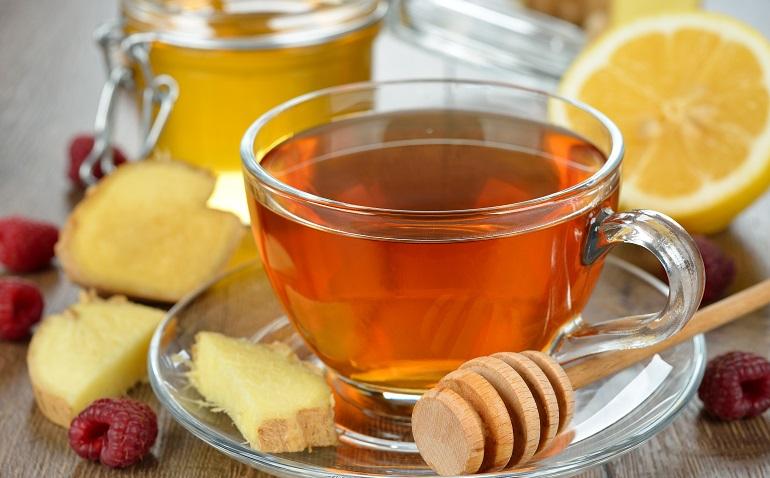 Имбирный чай рецепт с лимоном и медом