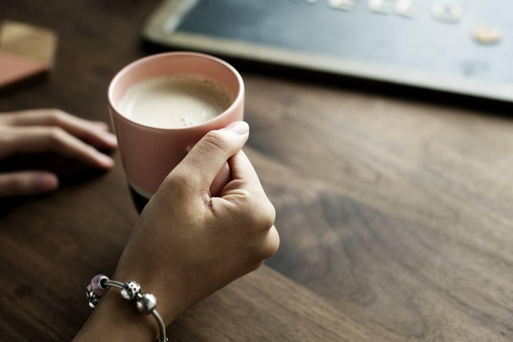 Пить кофе с имбирем