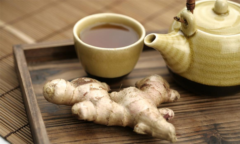 Чай с имбирным корнем