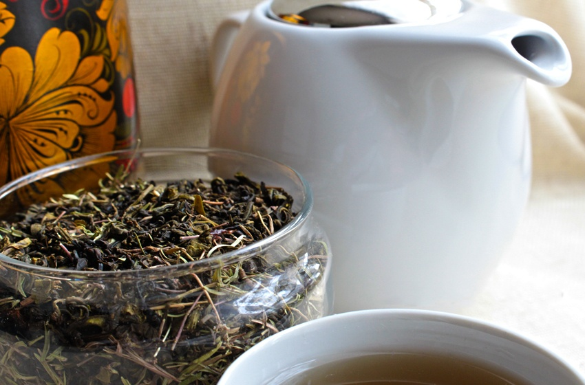 Чай с ароматным чабрецом