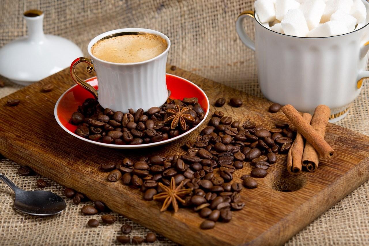Количество корицы в кофе
