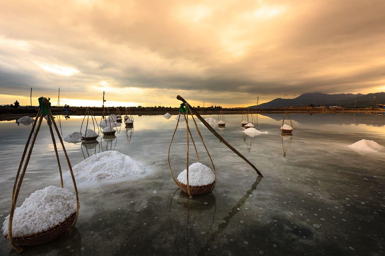 Добыча морской соли