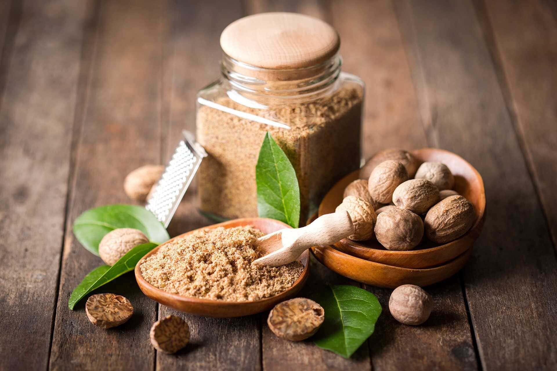 Мускатных орех в лечебных целях