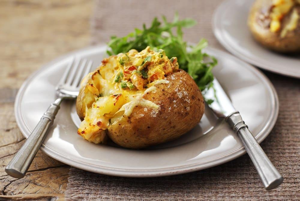 Крошка-картошка с горчичным соусом